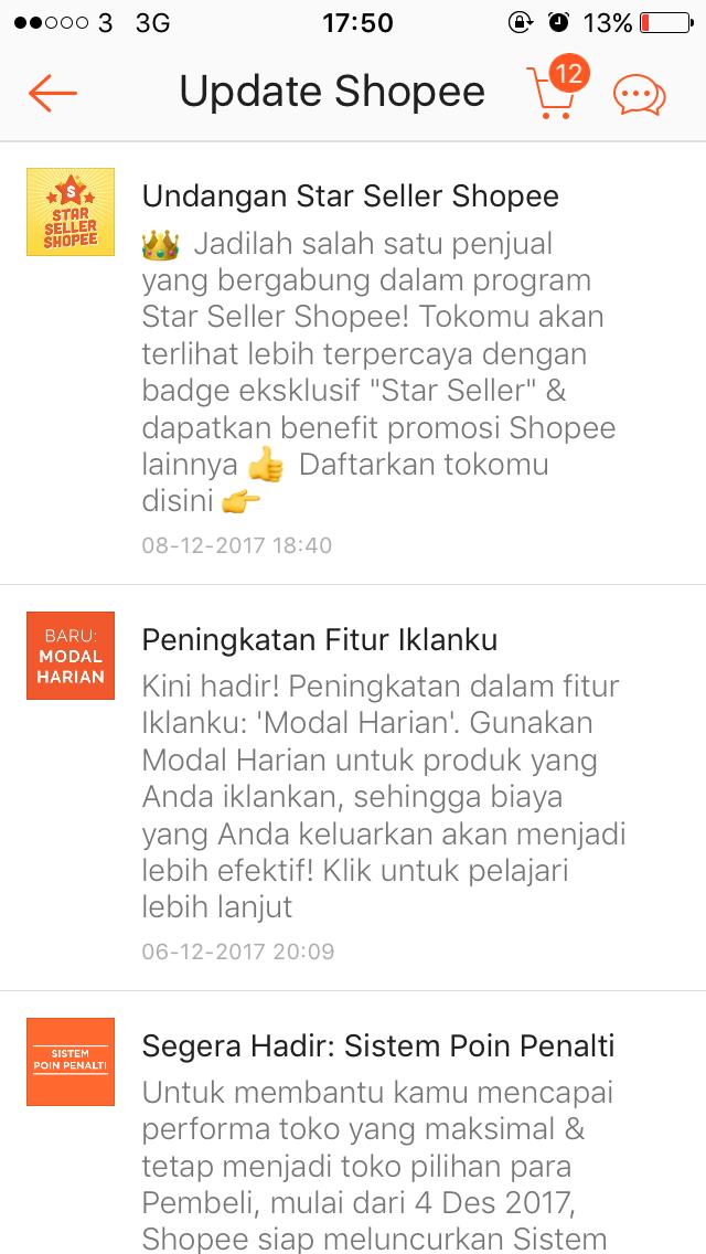 Perjalanan Menjadi Star Seller Shopee Little Arsyi